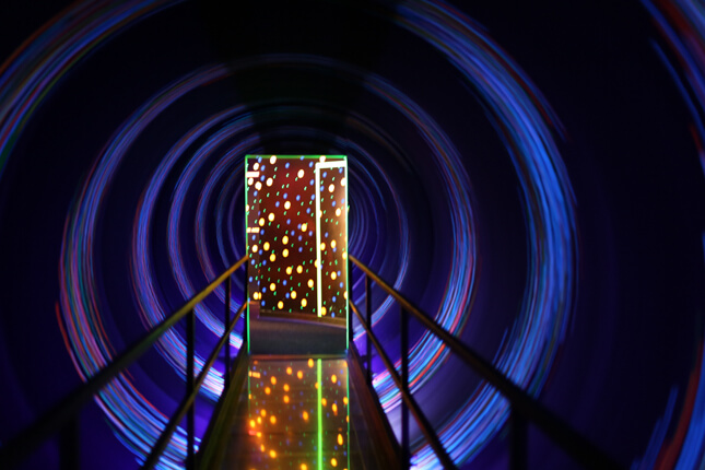 Museu WonderWorks em Orlando: Light Tunnel