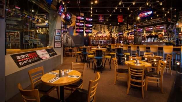 Disney's BoardWalk em Orlando: restaurante ESPN Club