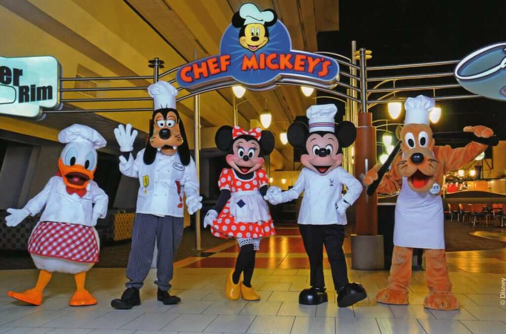 Hotel Disney's Contemporary Resort em Orlando: restaurante Chef Mickey's