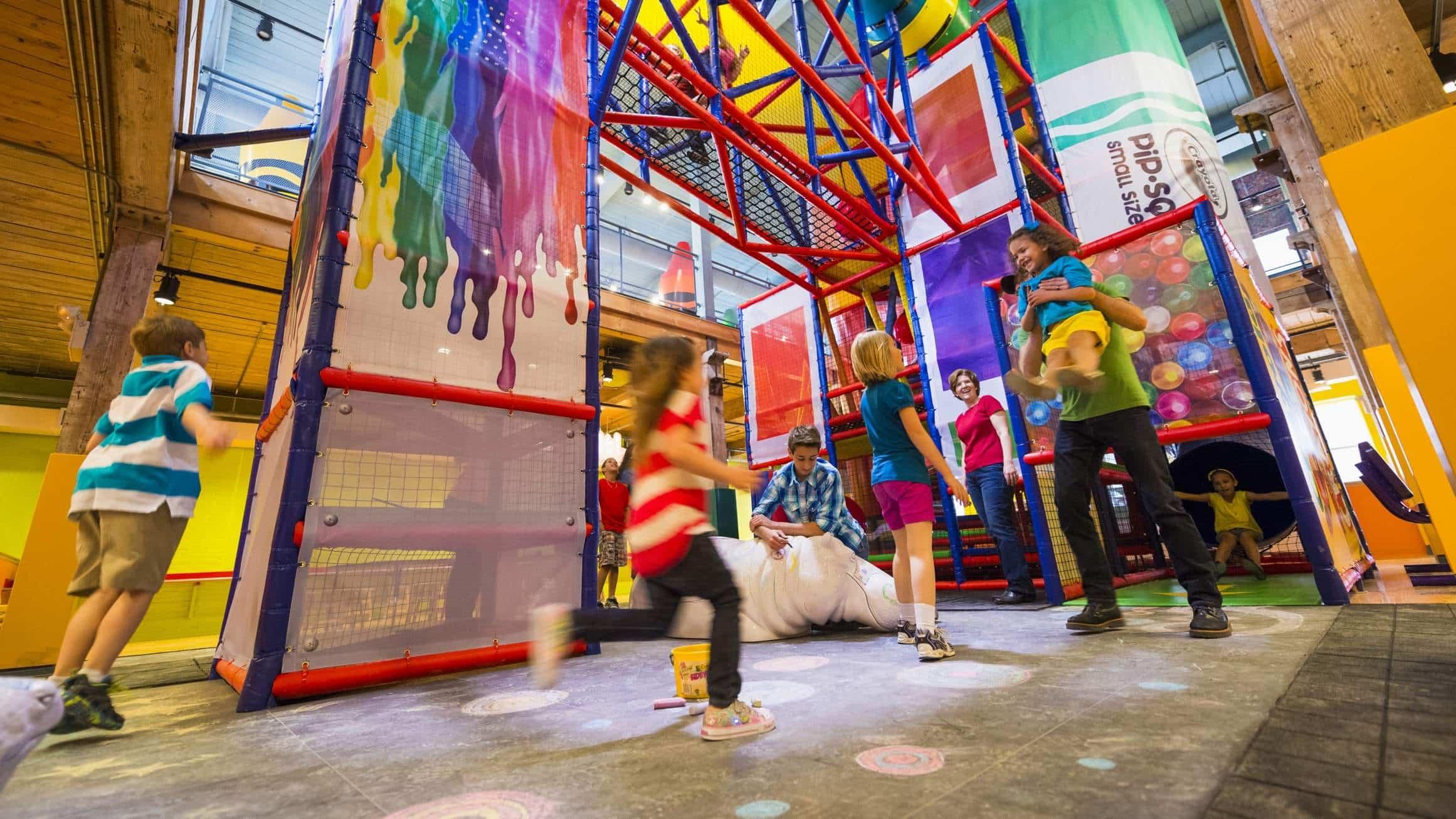 Crayola Experience em Orlando: atrações