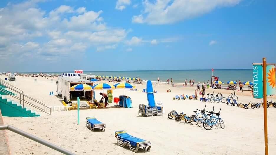 O que fazer em Daytona Beach: praia