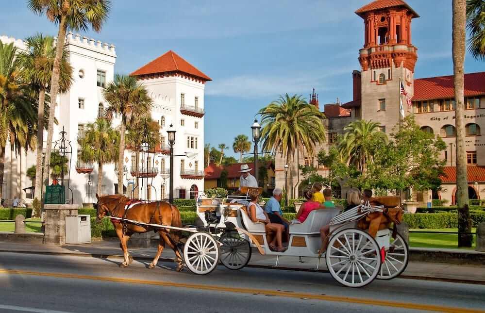 Museus em Saint Augustine na Flórida: Trolley Hop on Hop off