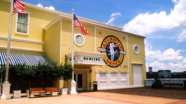 Disney's BoardWalk em Orlando: bar Atlantic Dance Hall