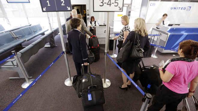 Bagagem e mala de mão em voos internacionais: aeroporto