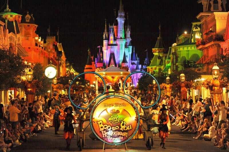 Halloween na Disney Orlando 2017