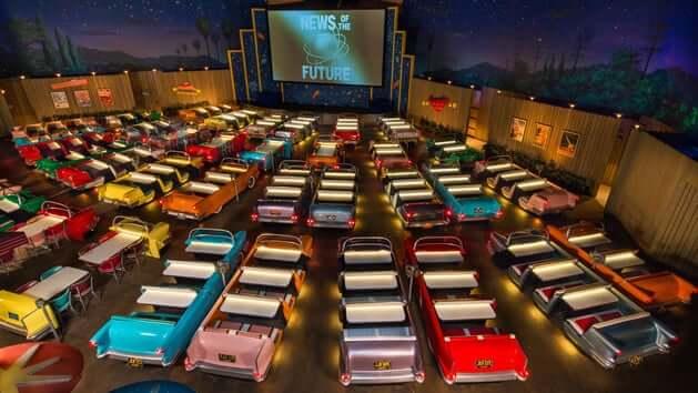 Parque Hollywood Studios da Disney Orlando: restaurante Sci-Fi Dine-In Theater
