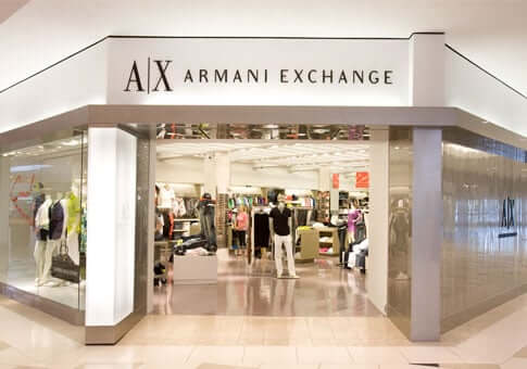 Onde comprar roupas em Orlando: loja Armani