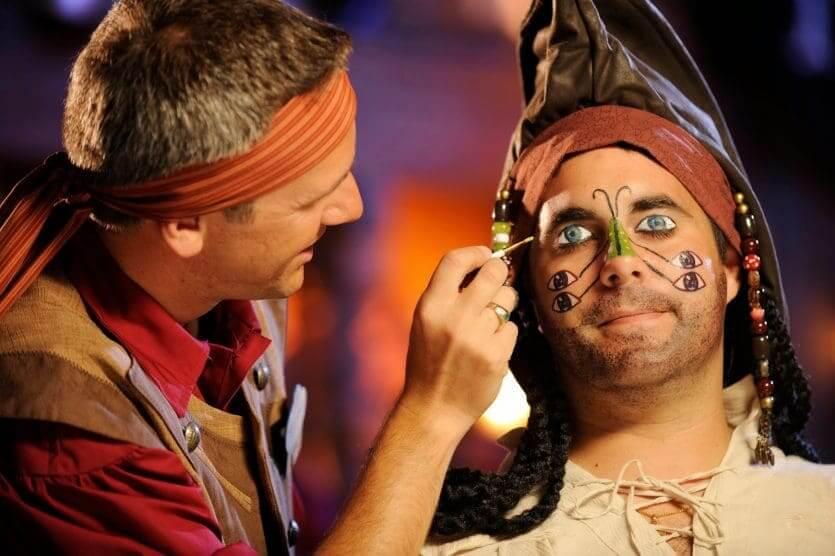 The Pirates League no Disney Magic Kingdom Orlando: fantasia de pirata