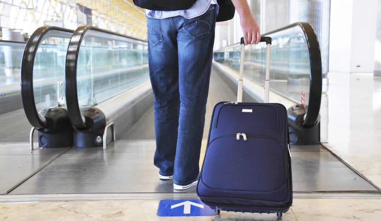 Bagagem e mala de mão em voos internacionais