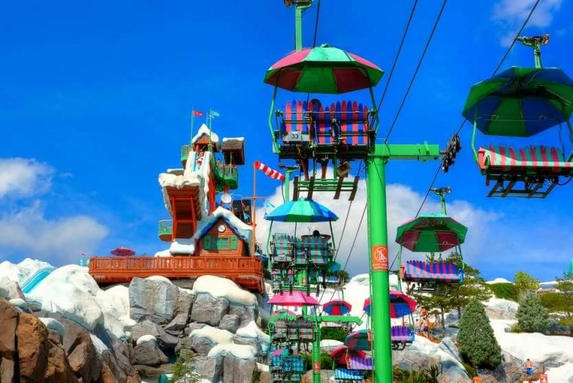 Parque Blizzard Beach da Disney Orlando: informações