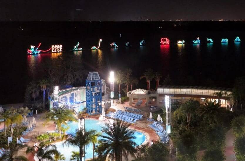 Hotel Disney's Contemporary Resort em Orlando: Electrical Water Pageant