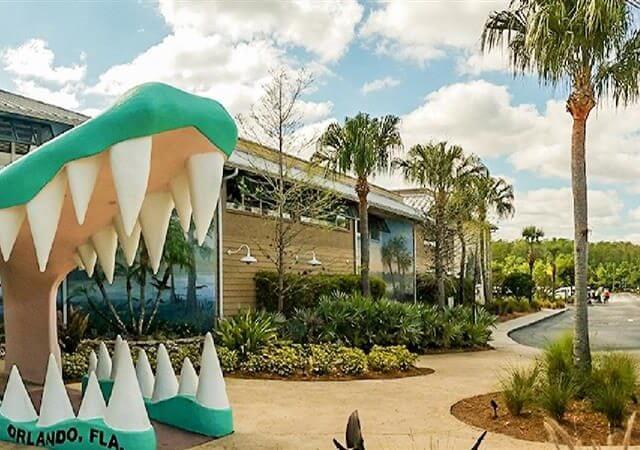 Parque dos Jacarés Gatorland em Orlando