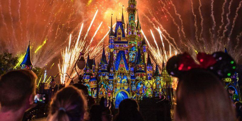 Shows, paradas e apresentações no parque Disney Magic Kingdom Orlando: Happily Ever After