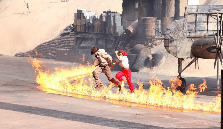 Show do Indiana Jones na Disney Orlando