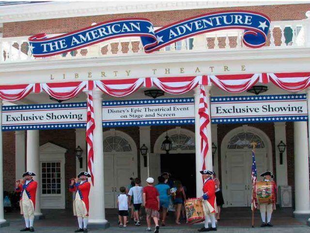 The American Adventure na Disney