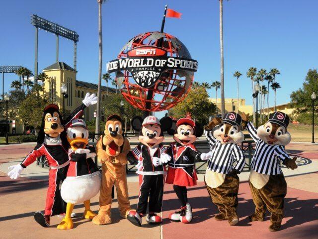 Parque ESPN na Disney Orlando
