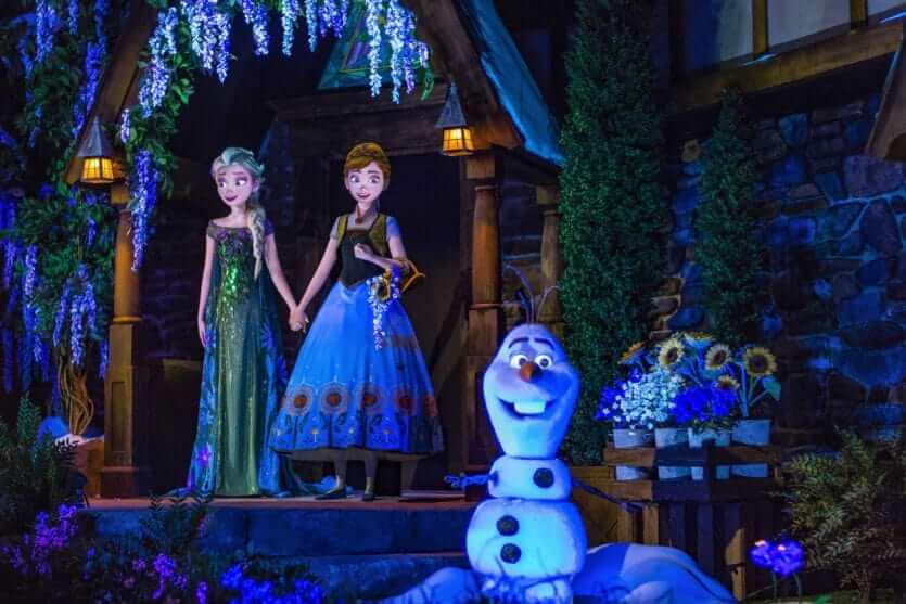 Parque Epcot da Disney Orlando: Frozen Ever After