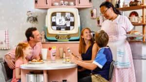 7 restaurantes para a família em Orlando: 50's Prime Time Café