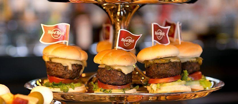 Restaurante Hard Rock Cafe em Miami: comida