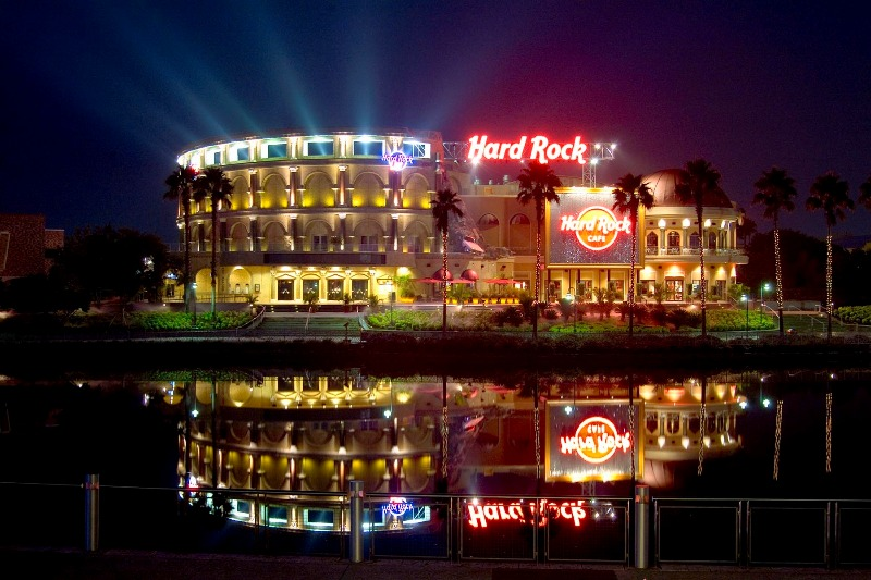 Restaurante Hard Rock Cafe em Orlando