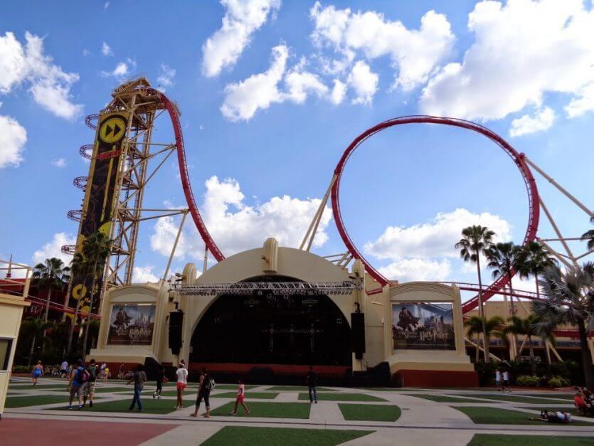 Rock 'n' Roller Coaster Starring Aerosmith no parque Hollywood Studios da Disney Orlando