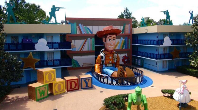 Hotel Disney's All Star Movies