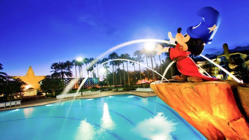 Hotel Disney All Star Movies em Orlando: piscina
