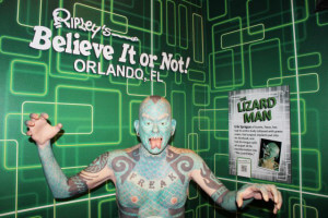 Museu Ripley's Believe It or Not em Orlando: Lizard Man
