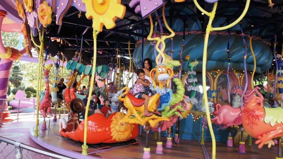 Parques para crianças em Orlando: carrossel