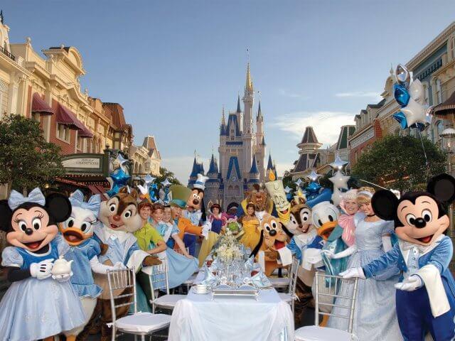 Plano de refeição gratuita na Disney Orlando