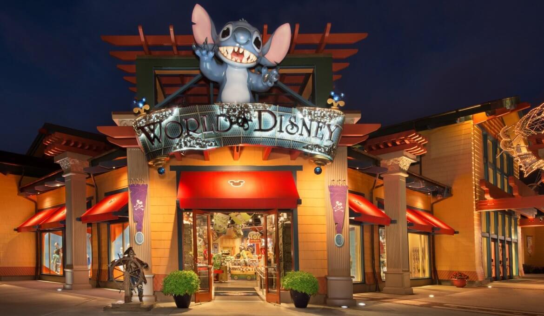 World of Disney, a maior loja Disney de Orlando