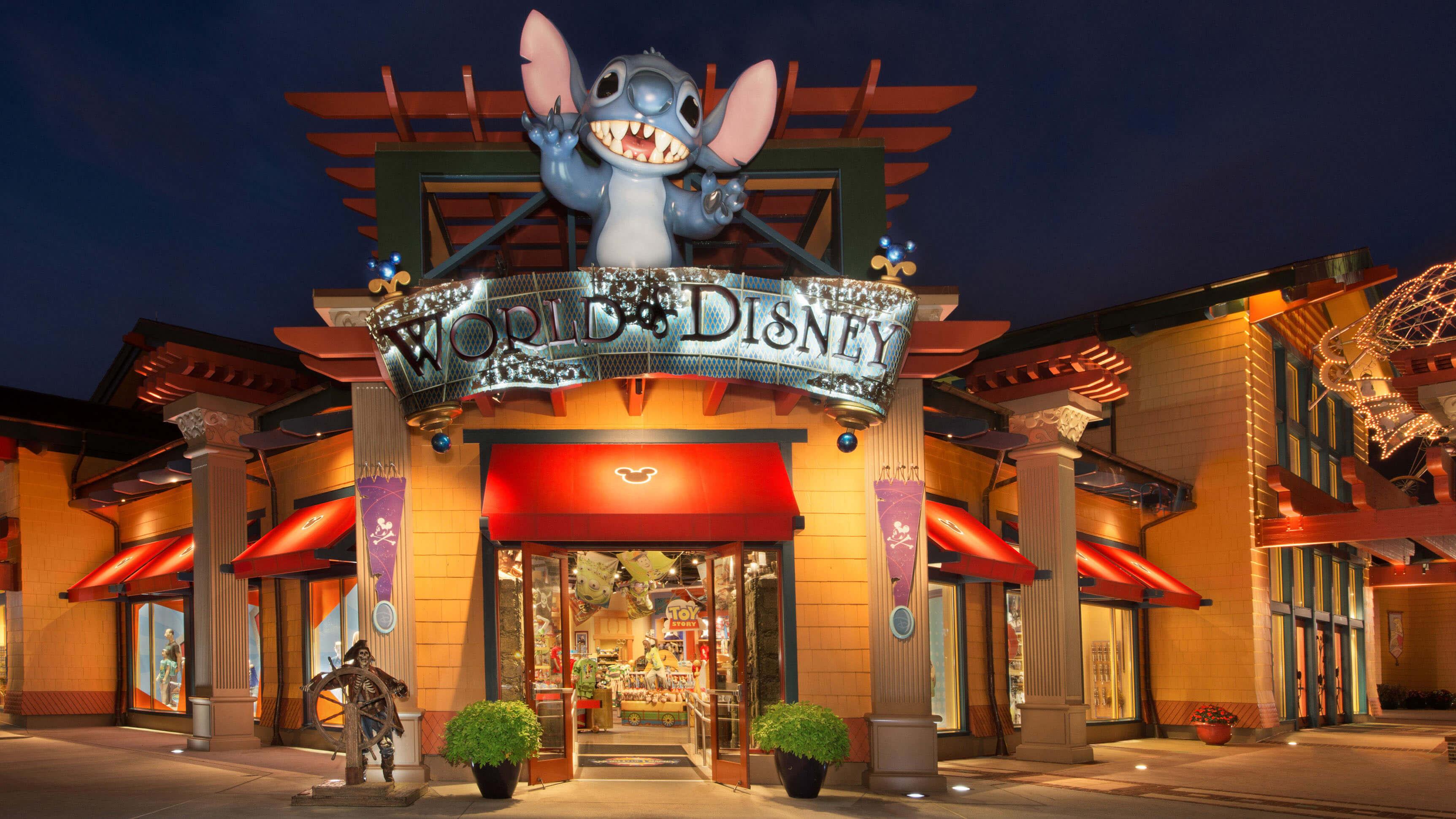 Disney Orlando para crianças: loja World of Disney na Disney Springs