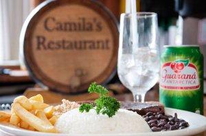 Restaurante brasileiro Camila's em Miami: comida