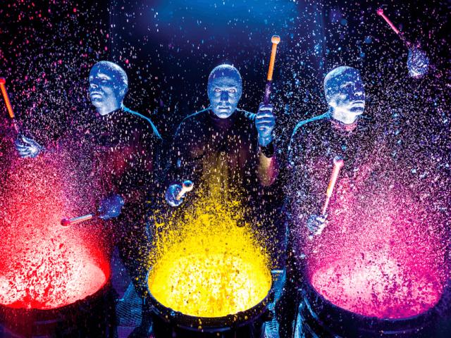 Show do Blue Man Group na Universal Orlando