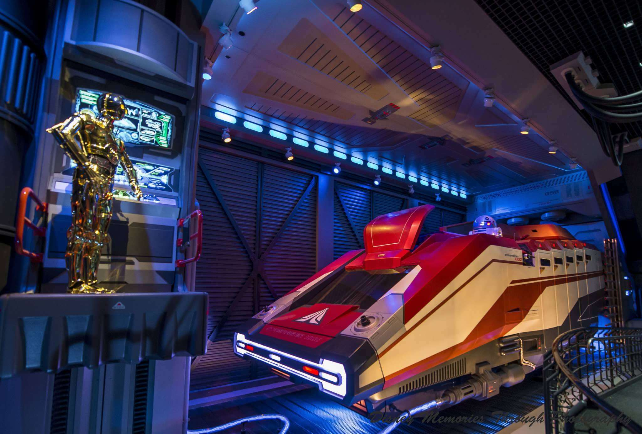 Star Wars na Disney Orlando: Star Tours - The Adventure Continues