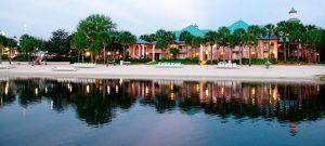 7 hotéis ótimos de médio preço em Orlando: Caribbean Beach Resort