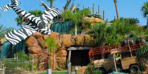 International Drive em Orlando: campos de golfe