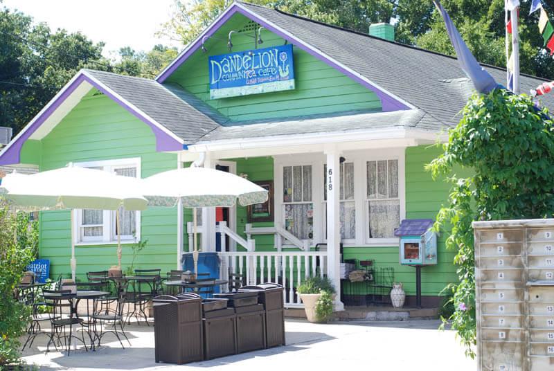 Restaurantes vegetarianos e veganos em Orlando: Dandelion Communitea Cafe Orlando