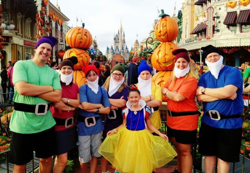 7 dicas para famílias em Orlando: festa de Halloween na Disney