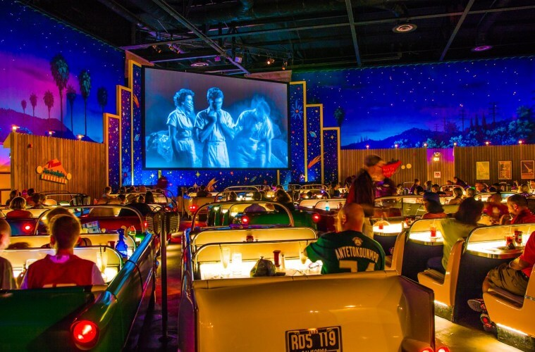 Parque Hollywood Studios da Disney Orlando: Sci-Fi Dine-In Theater
