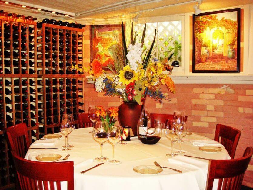 7 melhores restaurantes finos de Orlando: The Cellar Restaurant