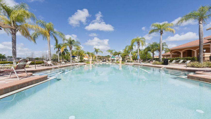 Melhores condomínios de casas em Orlando: Bella Vida Resort - piscina