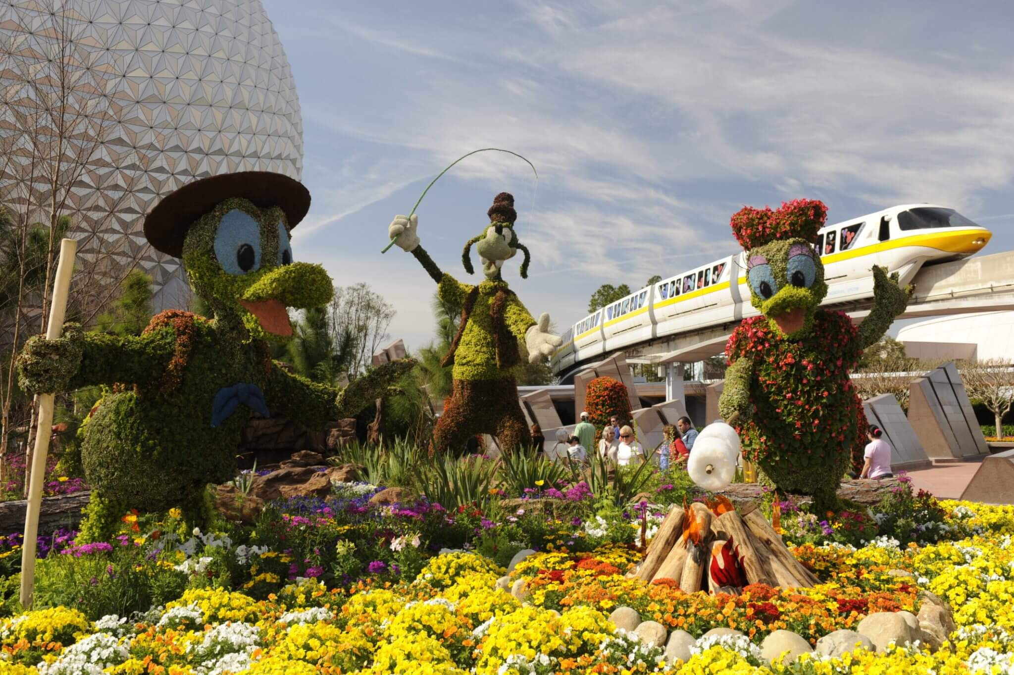 Epcot International Flower & Garden Festival 2019 na Disney Orlando