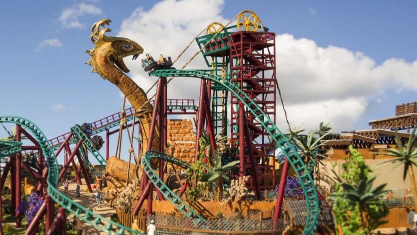 Como planejar sua viagem a Orlando e Disney: Montanha-russa Busch Gardens