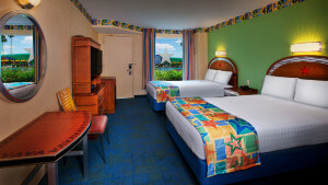 Hotel Disney All Star Sports em Orlando: quarto