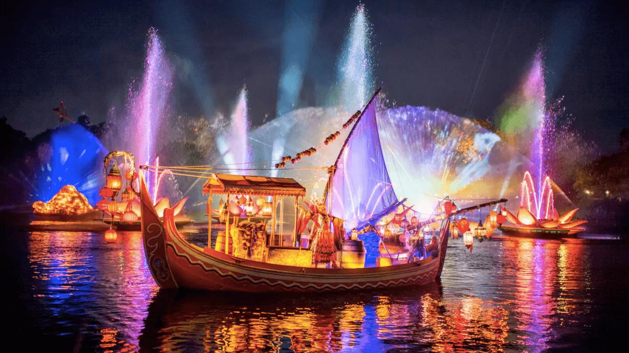 Shows da Disney em Orlando: River of Light