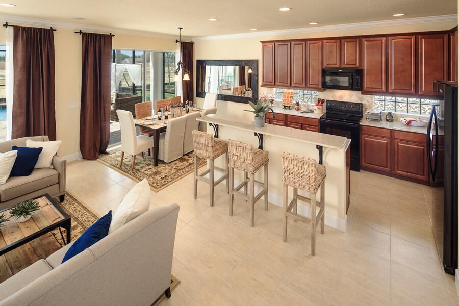Casas para alugar perto da Disney por temporada: Condomínio de casas Solterra Resort