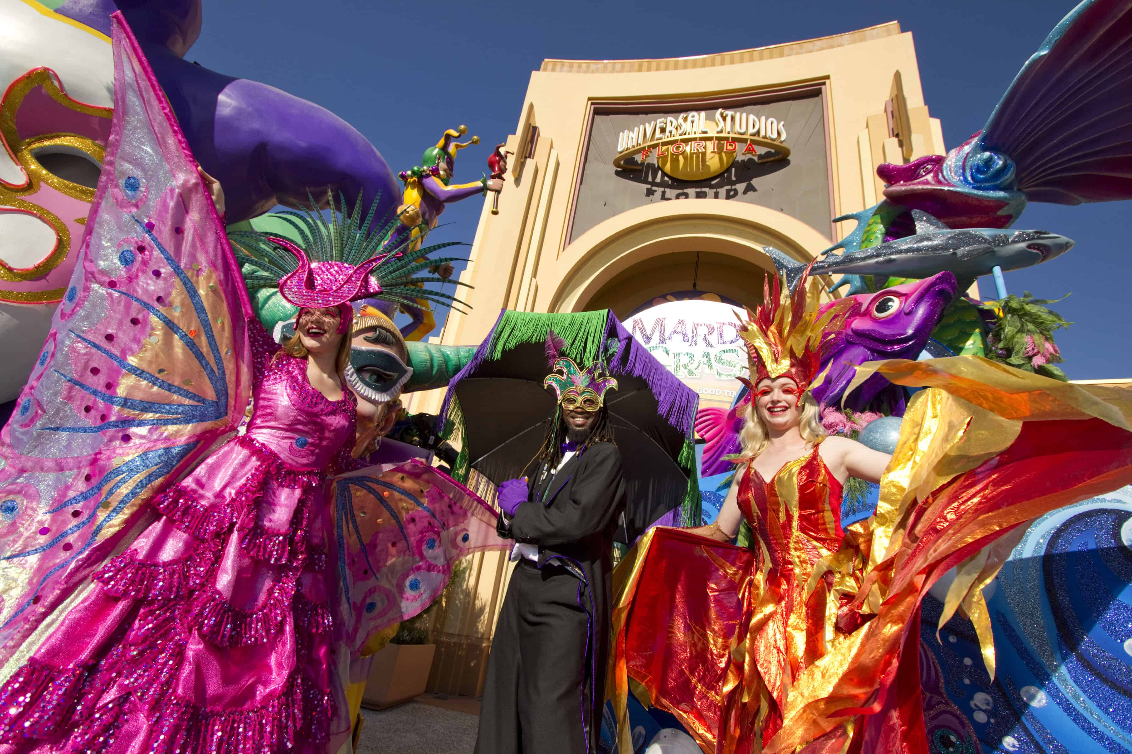 Mardi Gras no Universal Studios Orlando 4
