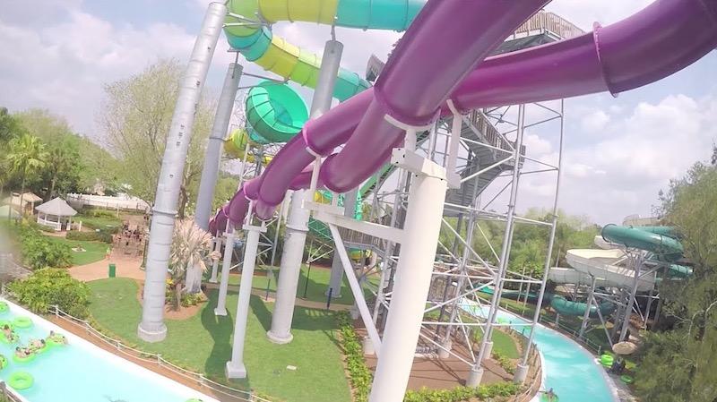 Parque Adventure Island Tampa Orlando: Caribbean Corkscrew