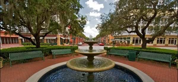 Bairro Celebration em Orlando 6
